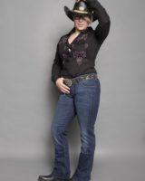 Jeans CATRIN elasticizzato BLU