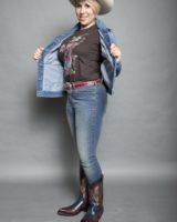Jeans JACLYN skinny AZZURRO