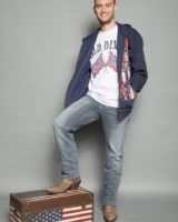 t. shirt M/M stampa OLD DIXIE GRIGIA