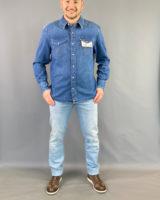 Camicia jeans uomo Wrangler
