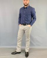 Pantalone tela Arizona grigio Wrangler