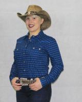 cappello western donna paglia MARRONE