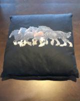 Cuscino stampa cavalli