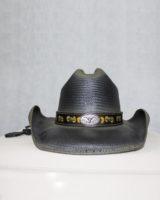 Cappello western paglia NERO