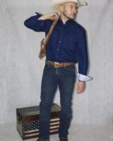 Jeans Arizona Stretch BLU