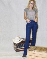 jeans FLARE elasticizzato BLU