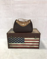 borsa country MARRONE