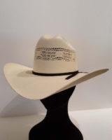 Cappello western paglia bianco